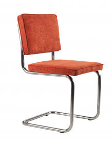 Orange Retro classic chair