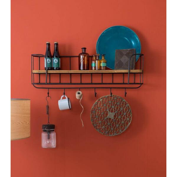 rangement mural industriel. Black Bedroom Furniture Sets. Home Design Ideas