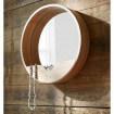 Miroir bois Nature design