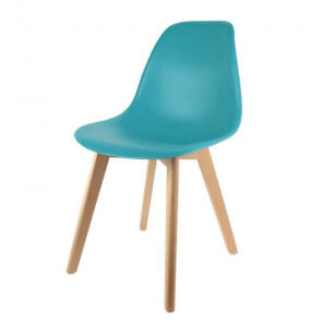 Color Pop chair petrol blue
