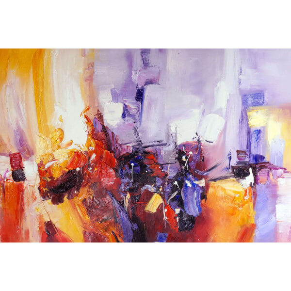 Abstract painting Jazzy