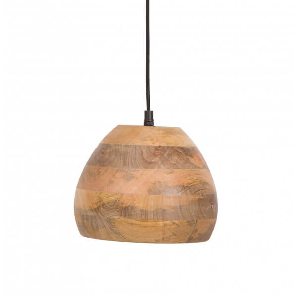 Woody pendant lamp