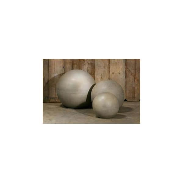 Boule design beton - Decoration jardin boule pierre ...