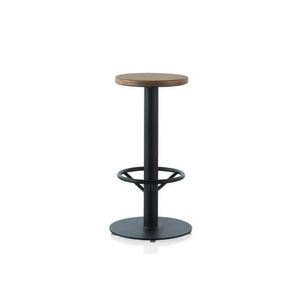 industrial bar stool. Black Bedroom Furniture Sets. Home Design Ideas