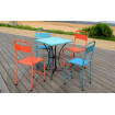 Table terrasse cafe vintage