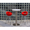 Tabouret de bar design rouge