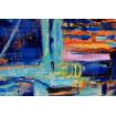 Azur oil painting