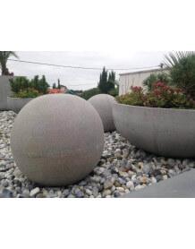 Boule Déco aspect beton