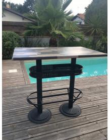 Table haute industrielle 110 Deauville