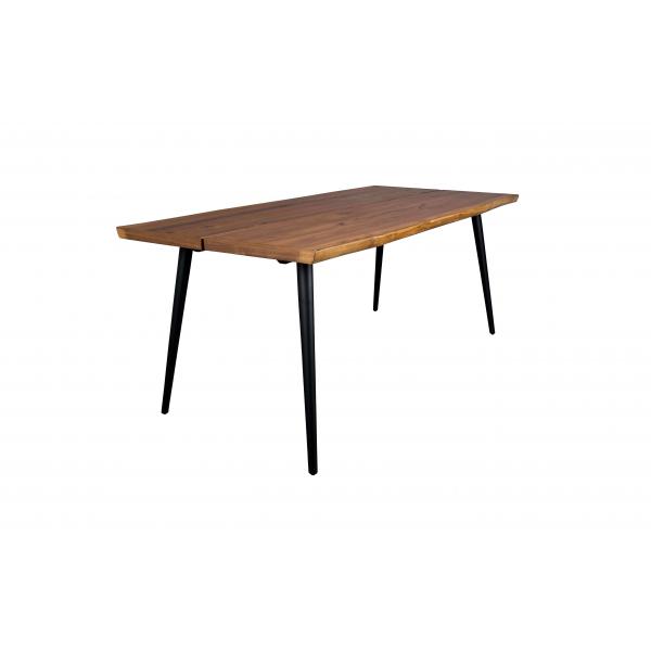 Table de repas bois acier