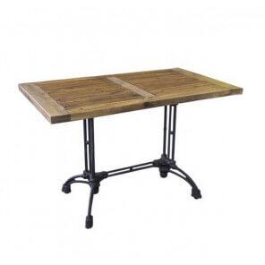 Brasserie rectangular table