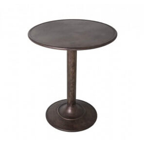 Table de café vintage Zinc