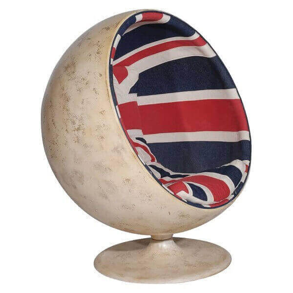 Fauteuil ball Union Jack 709