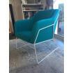 Blue Narvik armchair