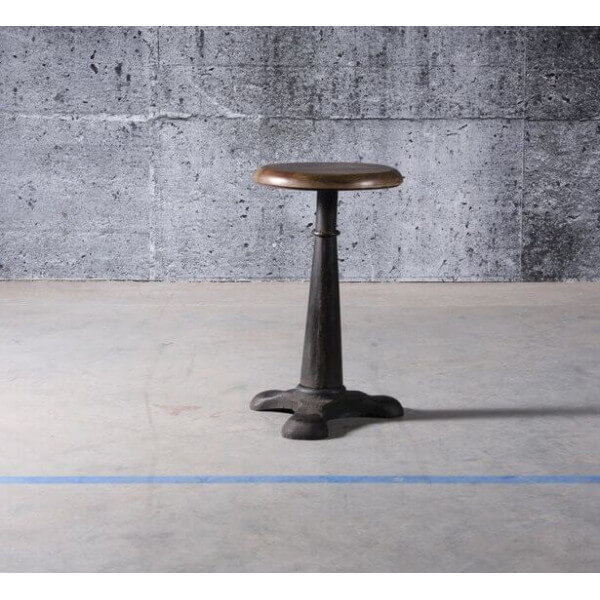 Industrial Singer stool
