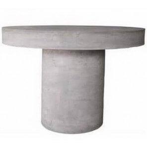 Table béton ronde 1716