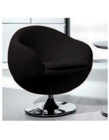 Fauteuil design Ball noir 747