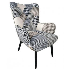BN patchwork Java arm chair
