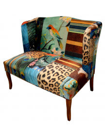 Banquette Patchwork Jungle
