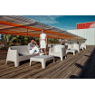 Canapé extérieur bar club terrasse