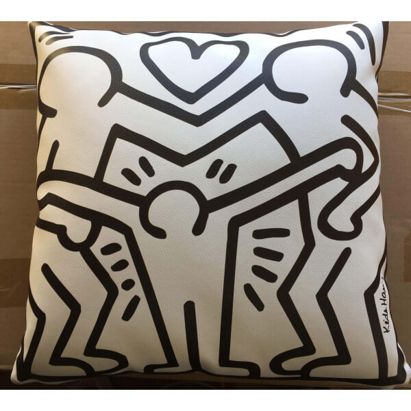 Coussin signé Keith Haring 167