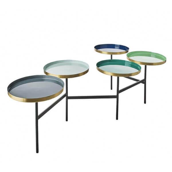 Table basse Art déco modulable