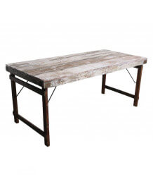 White Folding vintage table