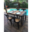 Dining table Clear Nevada 120
