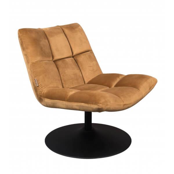 Gold Lounge Chair bar