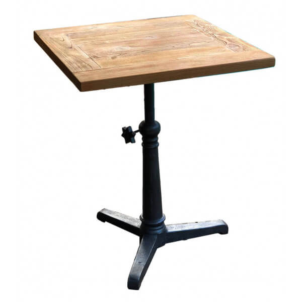 Adjustable Bistrot table