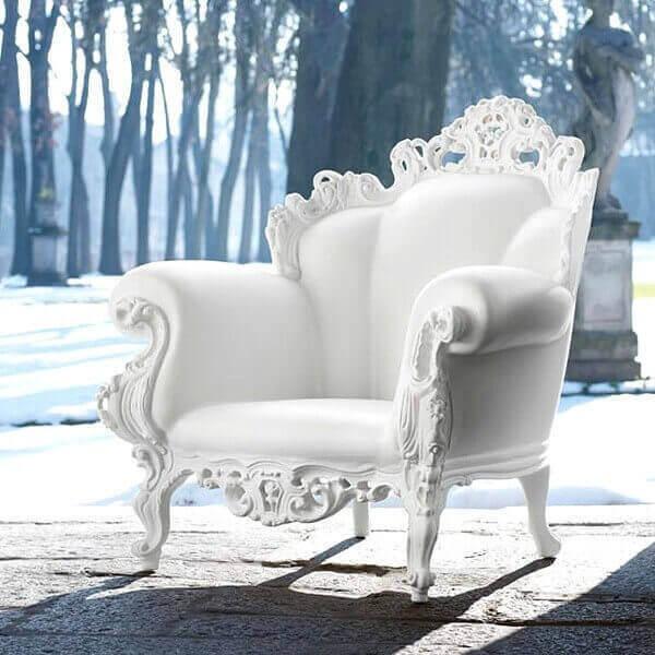 fauteuil proust de magis designer alessandro mendini du baroque moderne et original. Black Bedroom Furniture Sets. Home Design Ideas
