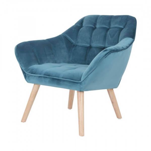 Sames blue Armchair