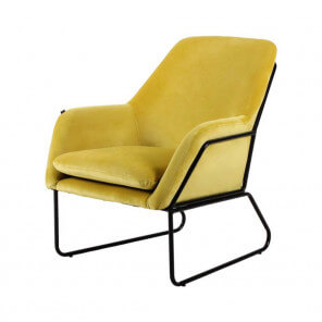 Yellow Abisko armchair