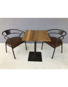 ensemble table chaise bistro