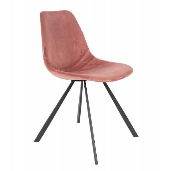 Chaise de repas Franky rose