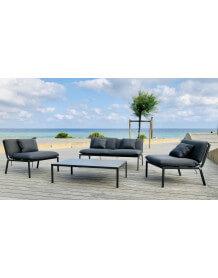 Grey Sunrise Garden Lounge