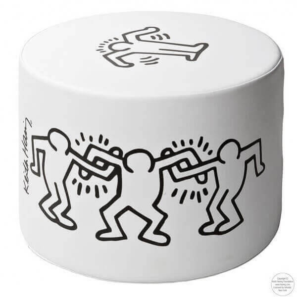 Pouf Keith Haring 906