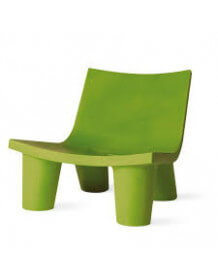 Green Lowlita lounge chair by Slide