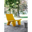 Safran yellow lounge chair Slide