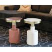 2 Enamelled tables Glam Zuiver