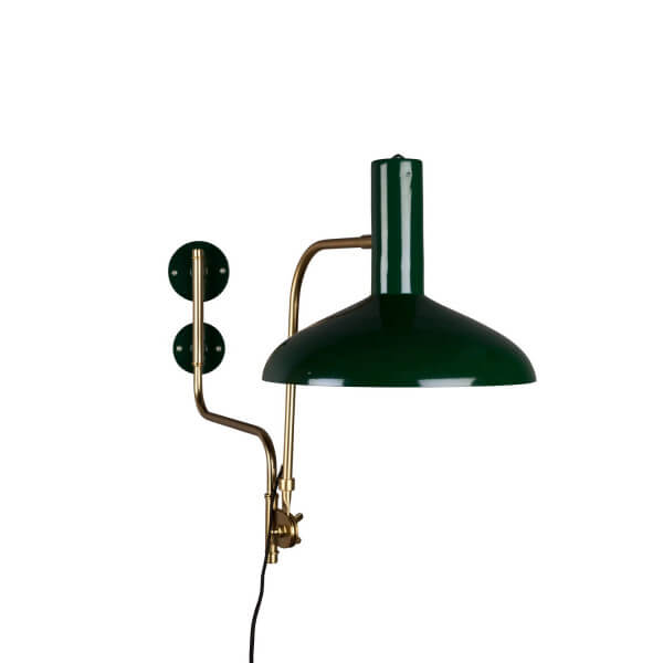 Devi green wall lamp