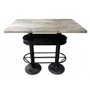 Table haute industrielle Oakland