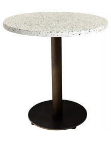 Terrazzo table Brass finish