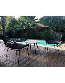 Lounge table Terrazzo set
