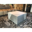 Cubic low Silver table