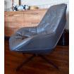 Grey armchair Treck