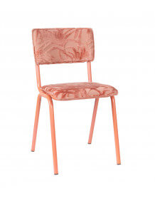 Chaise Back to Miami rose zuiver