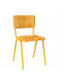 Chaise Back to Miami jaune