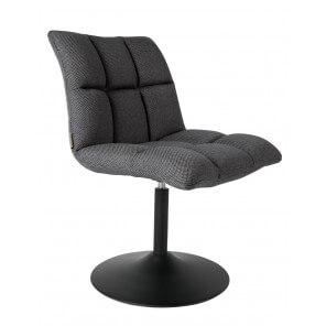 Dark Grey Office chair Dutchbone